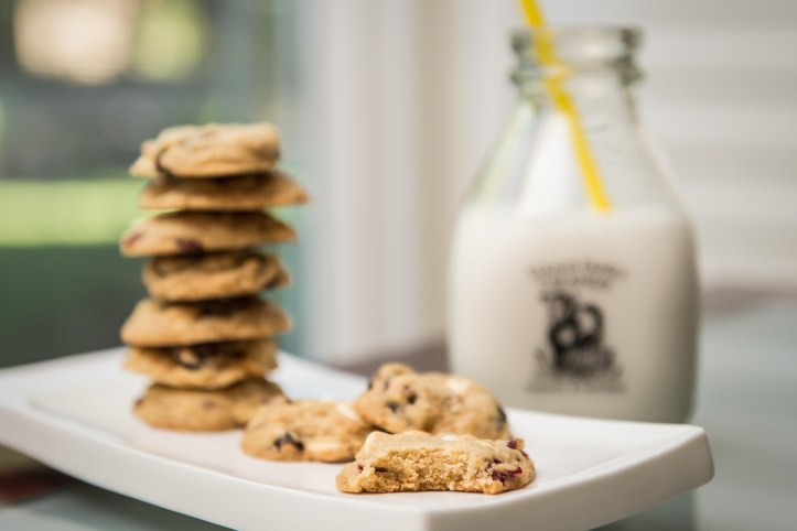 Cookies are a happy food. You can't eat a cookie and be sad. Try it.