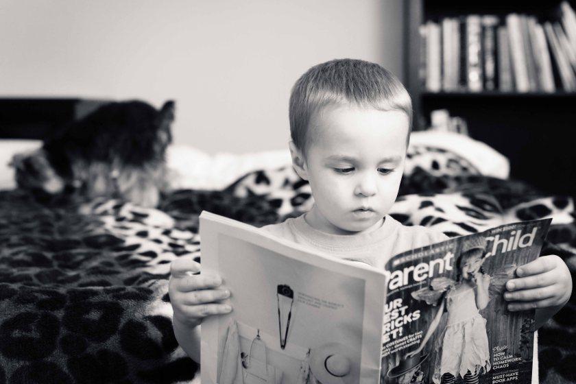 He is also an avid reader.