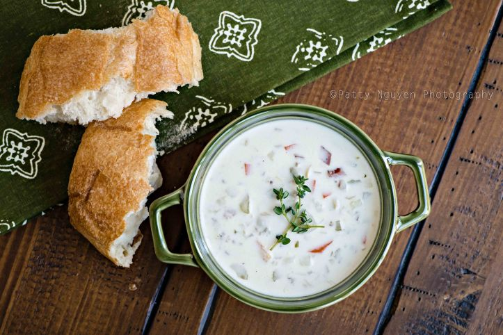 I'm not sure I would like clam chowder as much without the accompanying bread.