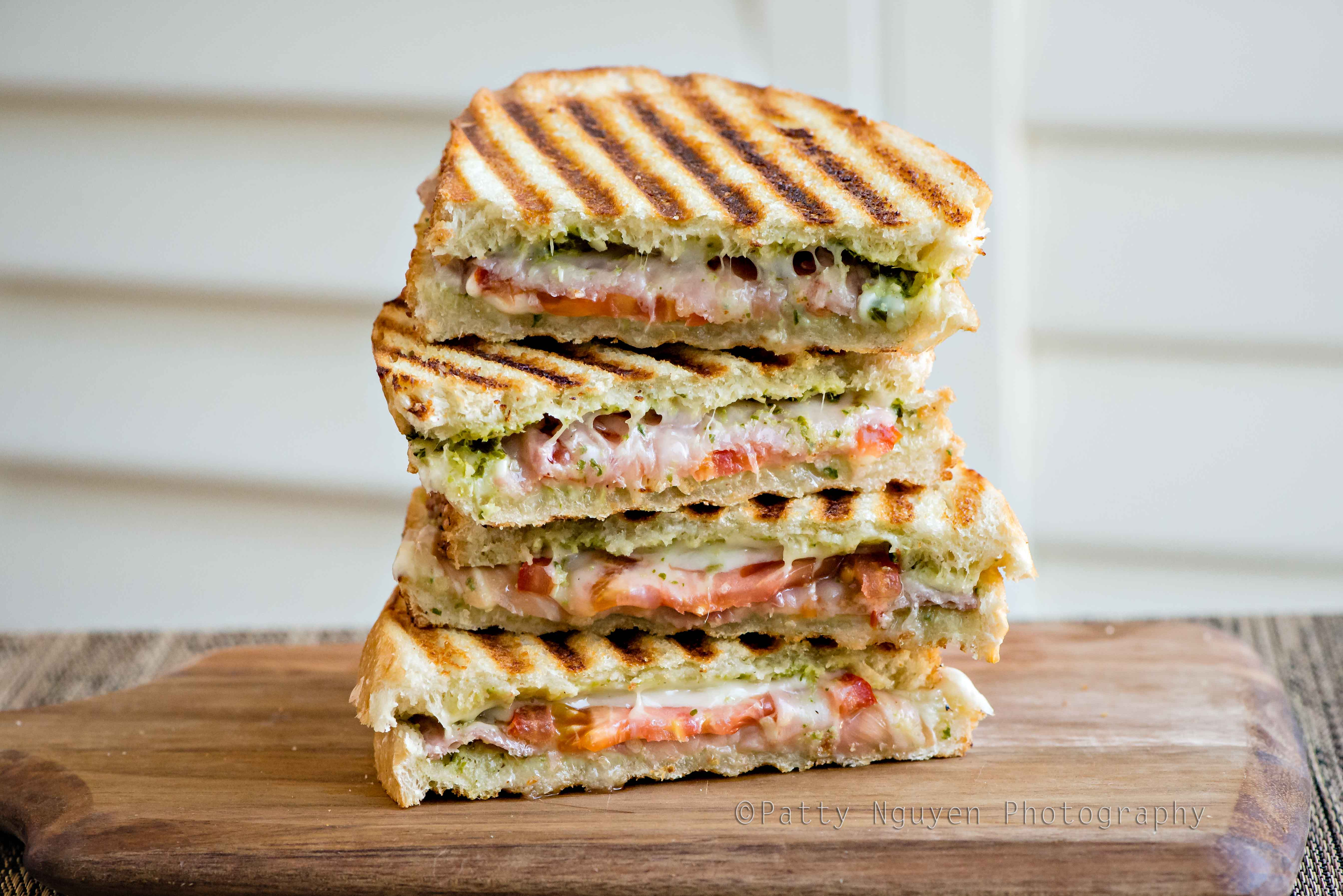 Prosciutto And Pesto Paninis Patty Nguyen Zurilgen