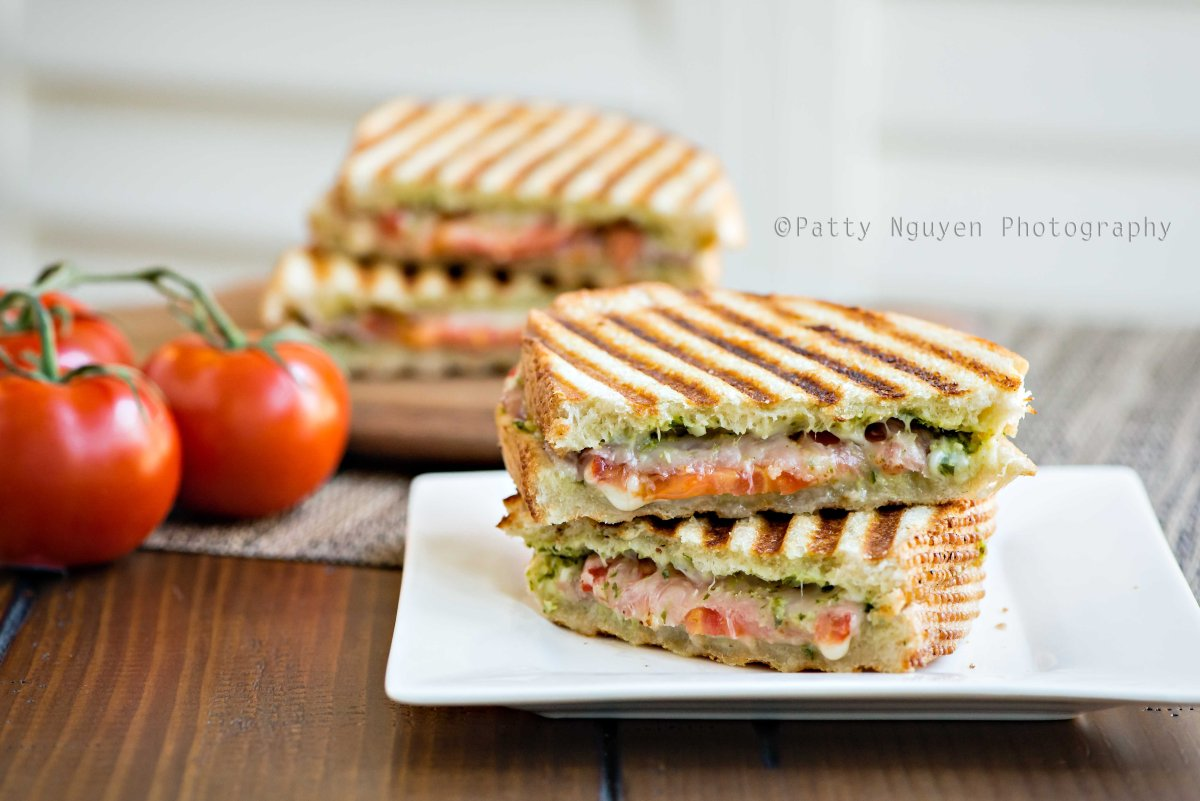 Prosciutto and Pesto Paninis | Patty Nguyen