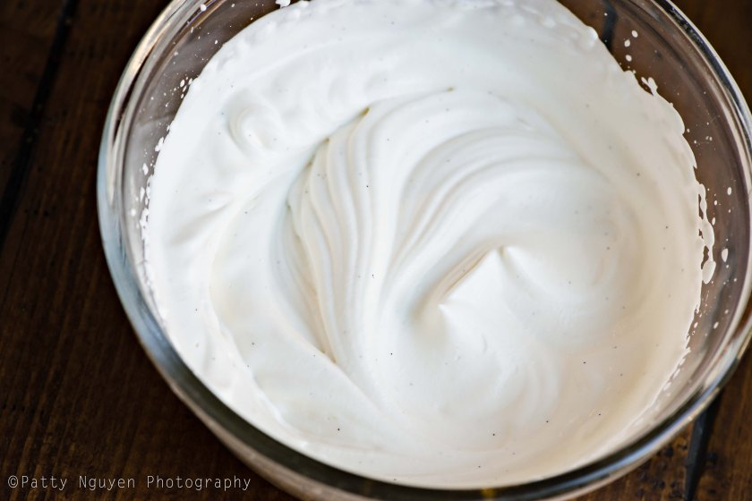 There's nothing like fresh whipped cream. Three ingredients and three minutes later, you've got yourself a bowl of fluffy delight.