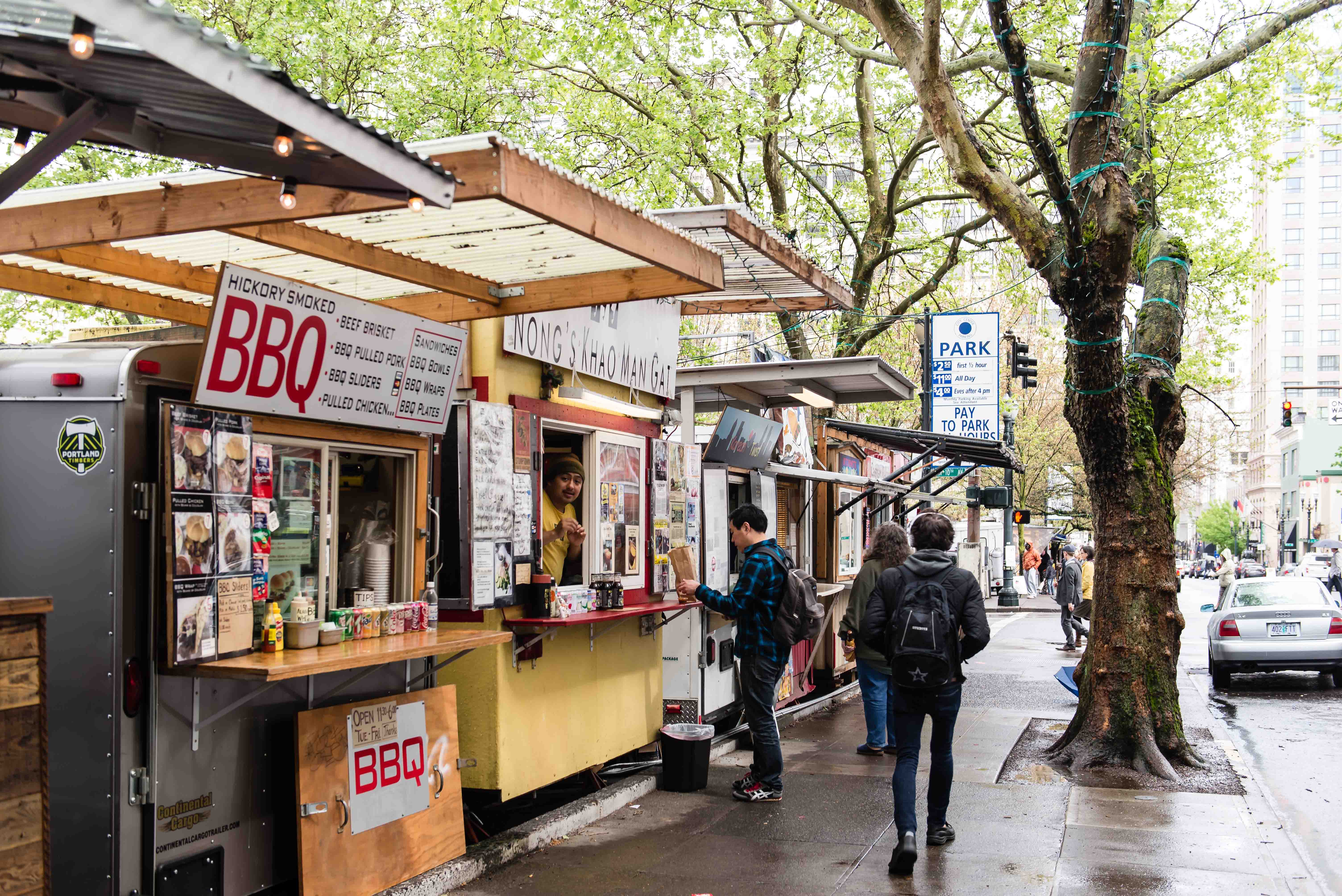 Portland Best Food Cart Pod